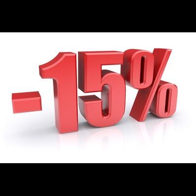 Sconto 15% soggiorno